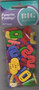 "Big Bag of Buttons (Numbers) – A collection of big sew through colored alphabet – 1"" x 5/8""."