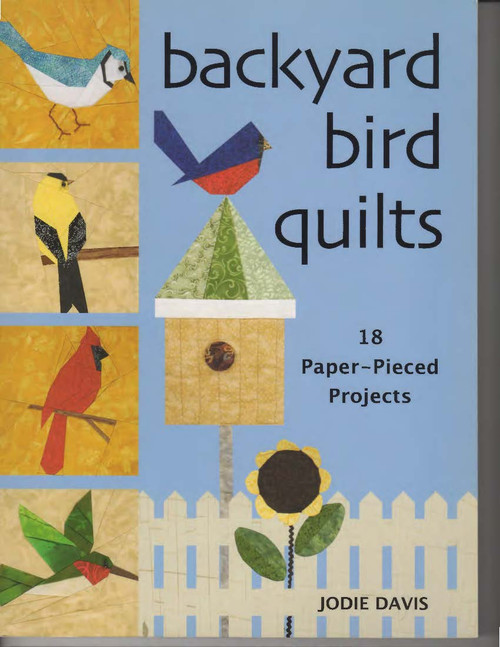 Backyard Bird Quilts Front Cover