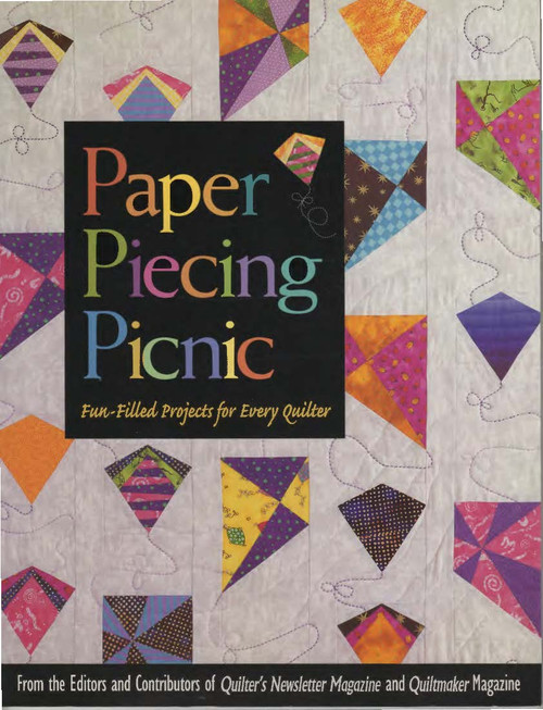 Paper Piecing Picnic Front Cover