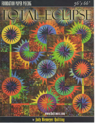 Total Eclipse Foundation Paper Piecing Front Cover