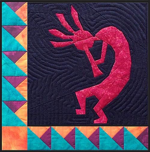 Kokopelli - NEW Form of Foundation Paper Piecing (Picture Piecing ... : kokopelli quilt pattern - Adamdwight.com