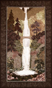 Multnomah Falls Applique Quilt