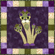 Aspurragus Applique Block