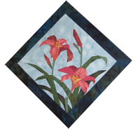 Day Lily Quilt Block