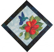 Hummingbird Quilt Block