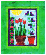 Think Spring Paper Piecing Quilt