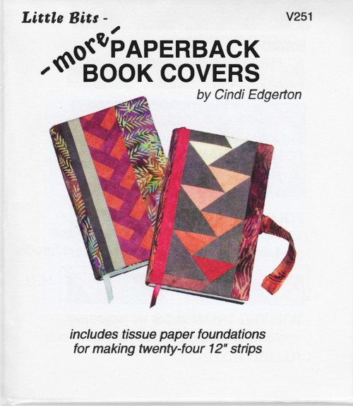 Paper Cover Hardback Book Called : More paperback book covers foundation paper piecing
