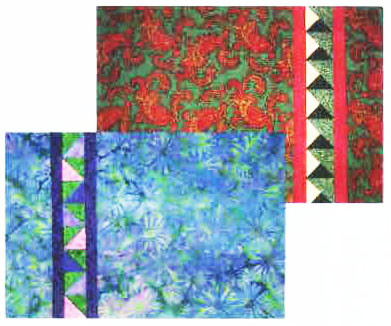 Simply Strips Paper Piecing Placemats