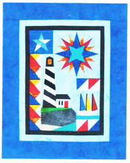 Lighthouse Paper Piecing Quilt