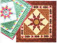 Mini-Feathered Star Paper Piecing Quilts