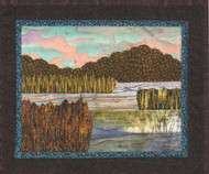 Serene Marsh Bella Vista Applique Quilt