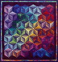 Celebration Foundation Paper Piecing Quilt
