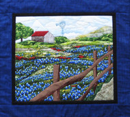 Field of Flowers Paper Piecing Quilt