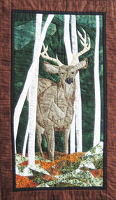The Buck Stops Here Picture Piecing Quilt