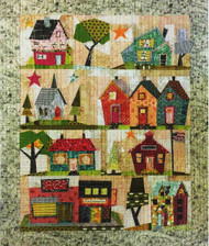 My Kinda Town Foundation Paper Piecing Quilt