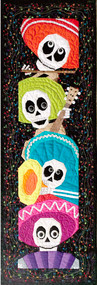 Meet the Skelly Tones Foundation Paper Piecing Quilt