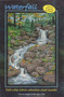 Waterfall Picture Piecing Quilt Block Front Cover