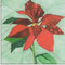 Poinsettia Flower Block