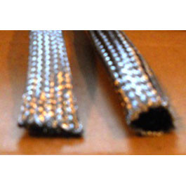 "1-1/2"" Tin coated Copper Expandable Braided Sleeving (Tubular)"