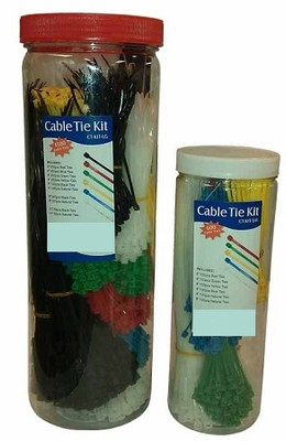 Large Cable Tie Kit (1500 pcs)