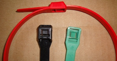 """14"""" 120 LB Low-Profile Cable Ties (100/bag)"""