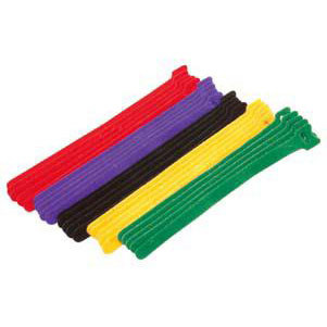3/4 inch x 18 inch Long Velcro One Wrap - 25 pieces