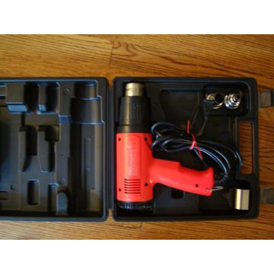 VT-1100 heat gun with Adjustable temp. dial