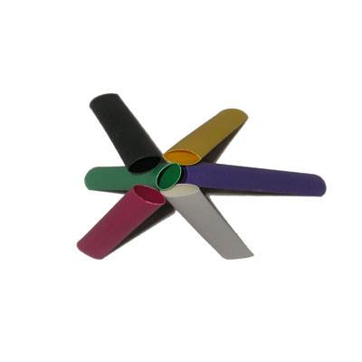 "1/4"" 3:1 Semi Rigid Adhesive Lined Heat Shrink Tubing (4ft/piece) (M23053/4-103-0) - Black"