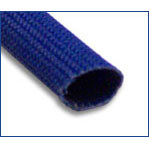 11 AWG Size Bentley Harris Exflex Fiberglass Braided Sleeving