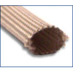 "1/2"" AWG Size Bentley Harris ST Fiberglass Braided Sleeving"