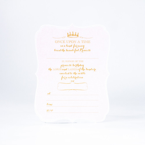 Invitation - Princess (set of 6)