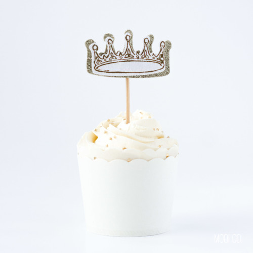 Cupcake Topper - Fairytale Party (set of 6)