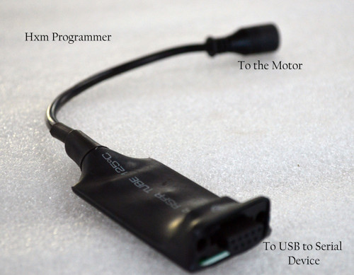 Hxm Motor Programmer For Falco Bike Systems. This programmer is used to change the firmware of the motor.