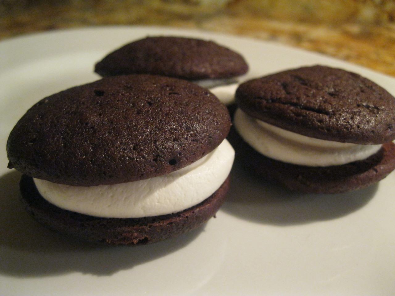 12 Pack- Medium Traditional Whoopie Pies (Birthday Party Size)