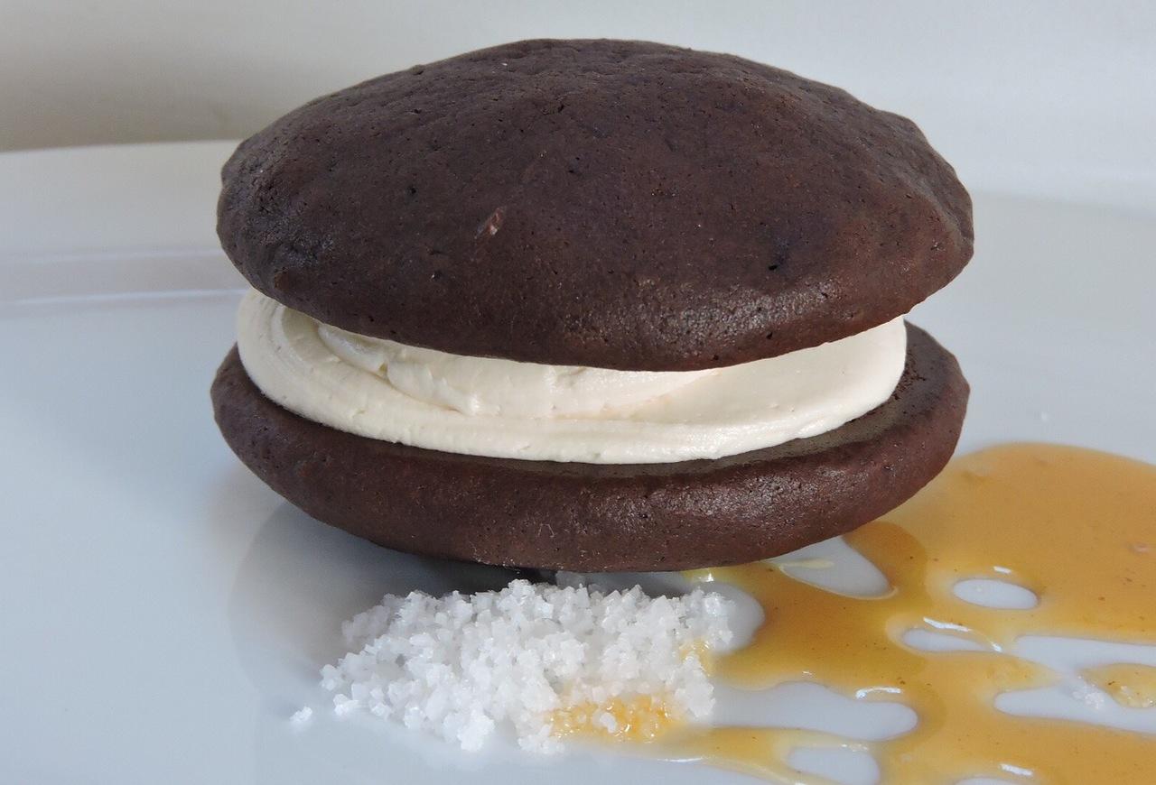 6 Pack- Large Salted Caramel Whoopie Pies