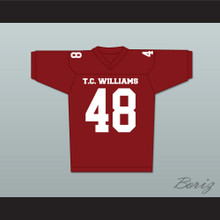 T. C. Williams High School Titans Football Jersey Red Ryan Gosling Alan Bosley