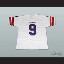 Adam Sandler Bobby Boucher The Waterboy Mud Dogs Football Jersey White