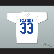 Al Bundy 33 Polk High Football Jersey Married With Children Ed O' Neill Stitch Sewn