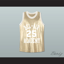 The Fresh Prince of Bel-Air Alfonso Ribeiro Carlton Banks Bel-Air Academy Gold Basketball Jersey