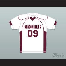 Liam Dunbar 09 Beacon Hills Cyclones Lacrosse Jersey Teen Wolf White