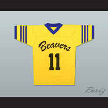 Scott McCall 11 Beacon Hills Beavers Lacrosse Jersey Throwback Teen Wolf