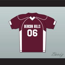 Danny Mahealani 06 Beacon Hills Cyclones Lacrosse Jersey Teen Wolf