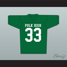 Al Bundy Polk High Football Jersey Married With Children Ed O' Neill Green