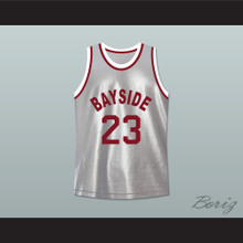 Saved By The Bell 23 Bayside Tigers Basketball Jersey