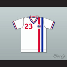 Boston Minutemen Football Soccer Shirt Jersey White