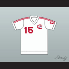 Connecticut Bicentennials Football Soccer Shirt Jersey White