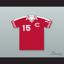 Connecticut Bicentennials Football Soccer Shirt Jersey Red