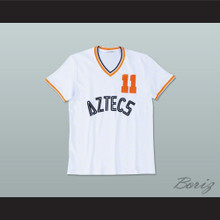 Los Angeles Aztecs Football Soccer Shirt Jersey White