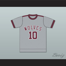 Los Angeles Wolves Football Soccer Jersey Gray