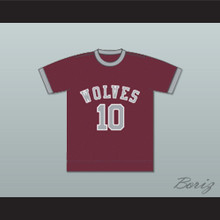 Los Angeles Wolves Football Soccer Jersey Maroon
